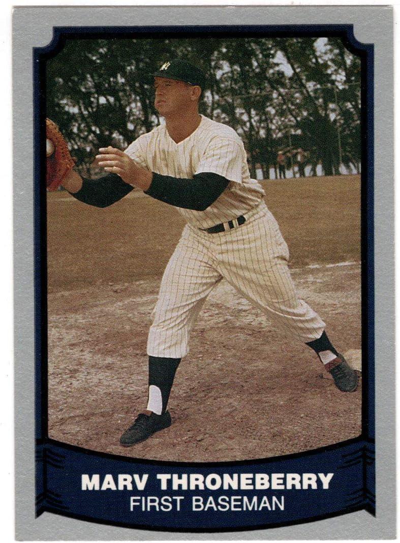 Marv Throneberry - New Ranking TOP2 York Trust Yankees Card Pacific Baseball 1988