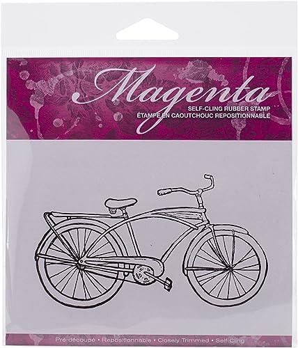 envio rapido a ti Magenta Magenta Magenta - Sellos para Bicicleta (4,5 x 2,75 Pulgadas)  el más barato