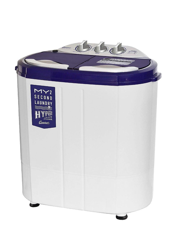 苦行絶え間ない長さシービージャパン 洗濯機 ホワイト 55cm×36cm×57.5cm 小型 二層式 ステンレス脱水槽 マイセカンドランドリーハイパー comtool