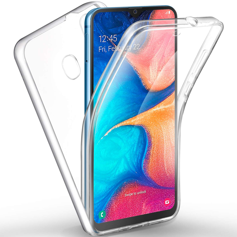 AROYI Funda Samsung Galaxy A20, Ultra Slim Doble Cara Carcasa ...