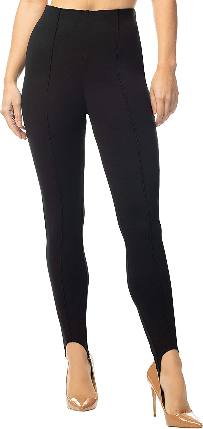 Almost Famous Junior Legging Pant Stirrup Max Max 79% OFF 56% OFF - Knit Po High Waisted