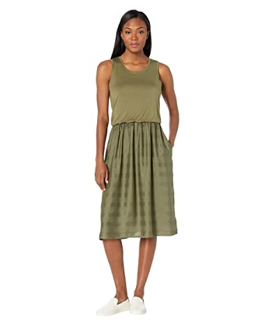 Prana Perry Midi Dress (Cargo Green) Women