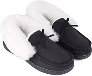 Best real fur lined moccasins Reviews