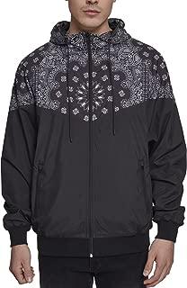 Pattern Windrunner Windbreaker Jacket