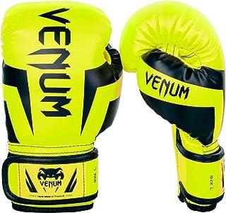 Venum Kids Elite Boxing Gloves, Neo Yellow, Large (9-11 Years)
