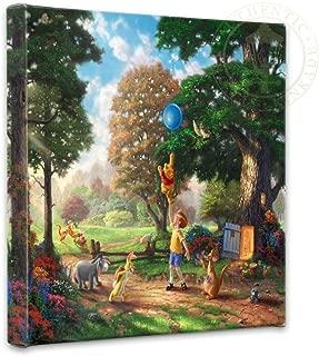 Thomas Kinkade 14x14 Gallery Wrapped Canvas Winnie The Pooh II