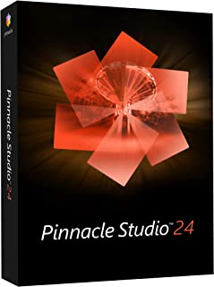 Pinnacle Studio 24   Video Editing and Screen Recording Software [PC Disc]