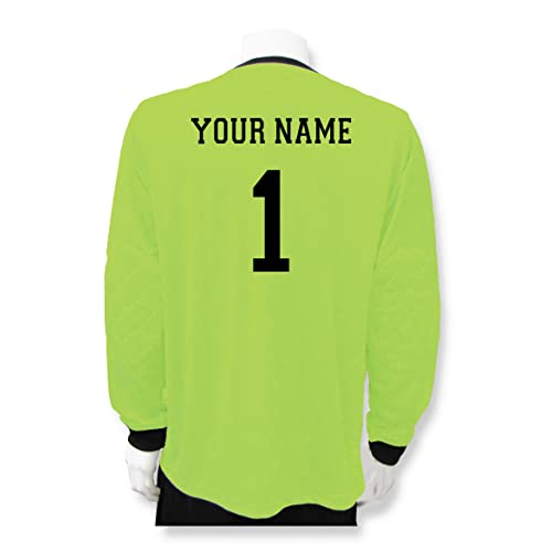 fd219b7d070 Soccer Goalkeeper Jersey personalized with your name and number