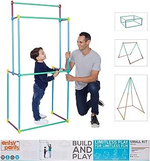 Antsy Pants Small Build & Play Kids Playhouse Kit - 68pc