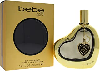Bebe Gold Eau De Parfum Spray, 3.4 Ounce , Multicolor