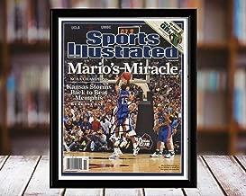 Mario Chalmers Sports Illustrated Autograph Replica Print - Marios Miracle - Kansas Jayhawks - 4/14/8-8x10 Desktop Framed Print