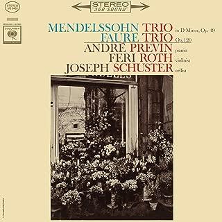 Mendelssohn: Piano Trio No.1 in D Minor, Op. 49 & Fauré: Piano Trio in D Minor, Op. 120