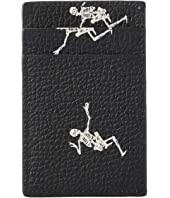 Alexander McQueen - Dancing Skeleton Card Holder