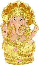 F Fityle Collection Resin Ganesha Figurine Hindu Elephant God Buddha Statue Home Living Room Mandir Diwali Decor Sculpture...
