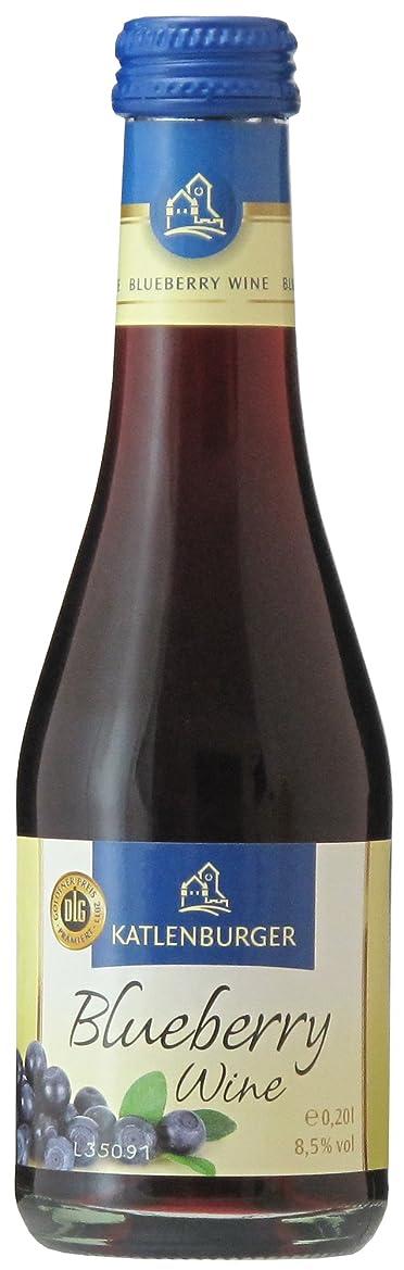 ビル種類骨の折れるドクターディムース カトレンブルガー ブルーベリーワイン 200ml [ 赤ワイン ミディアムボディ ドイツ ]