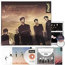 DAY6 1st Album - [ SUNRISE ] CD + Photobook + Lyrics Book + Clear Cover + Photocard + FREE GIFT / K-POP Sealed