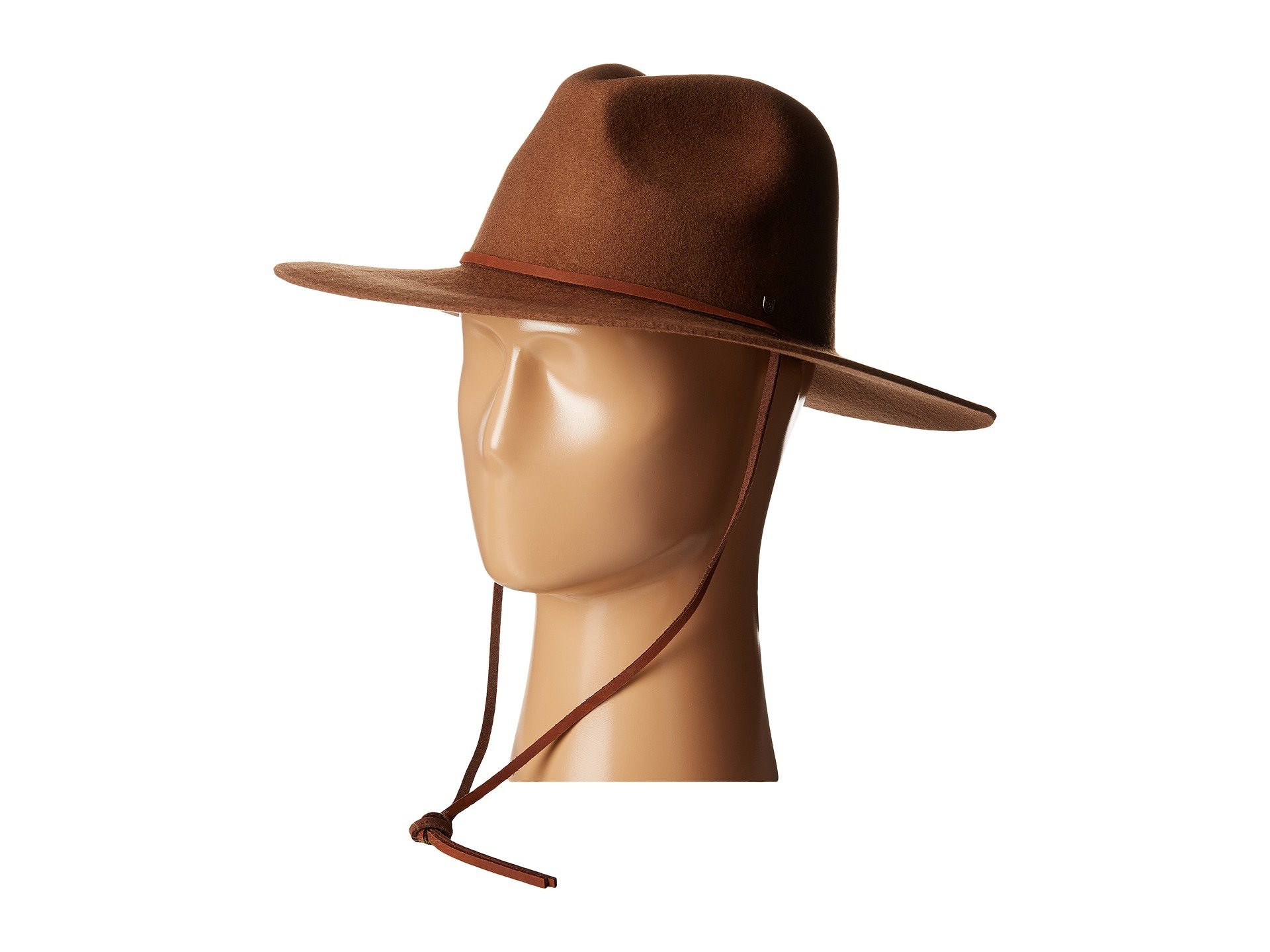 06b9f61ef17 Brixton Mayfield Ii Hat In Dark Tan