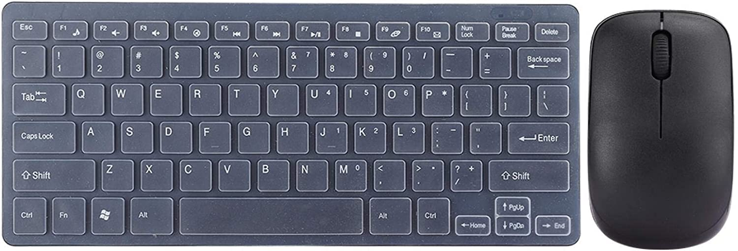 outlet QiruIXinXi 2.4G Cheap bargain Wireless Keyboard Mouse Set Keypad with Protecto
