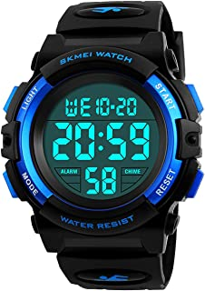Kids Digital Watch, Boys Sports Waterproof Led Watches...