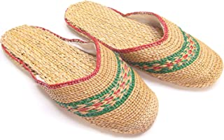 KNP GREEN LIFE Natural Straw Handmade House Slippers