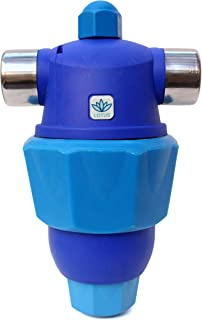 Hardless NG Lotus Whole House Water Filter and Water Conditioner - 5-Stage Water Filtration System - Salt Free, Reduces Limescale and Sediment, An Easy to Install and Maintain Compact Water Filter