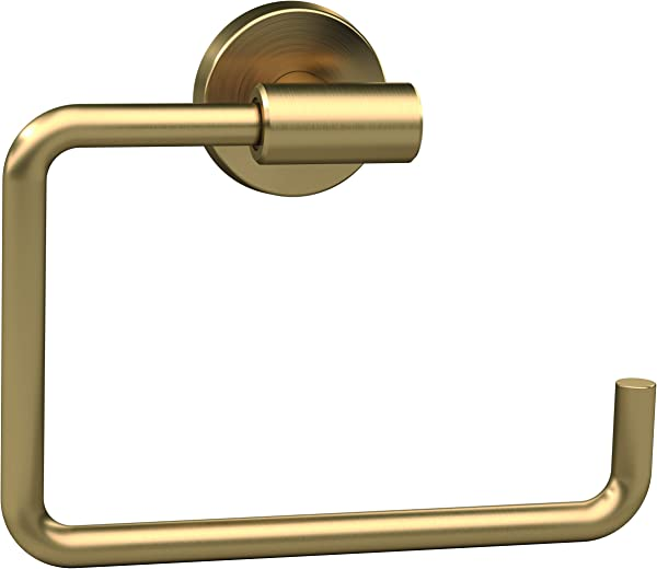 Amerock BH26541BBZ Arrondi Towel Ring Brushed Bronze Golden Champagne