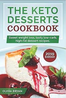 The Keto Desserts Cookbook 2019: KETO DESSERTS COOKBOOK: 35 Keto Diet Recipes Easy and Delicious to Make(Low-Carb, High-Fa...