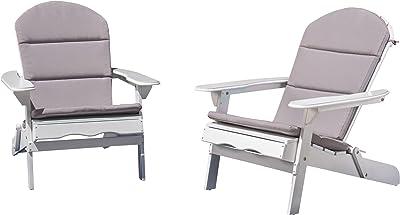 Amazon.com: elkwood 2 Essential silla de Adirondack con 1 ...