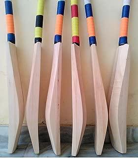 Plain New Designed English Willow Double Cricket Bat Huge Edge 50+ mm Ideal fot T 20 Cricket