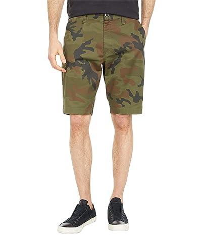 Volcom Frickin Modern Stretch Chino Shorts (Camouflage) Men