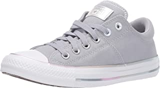 Converse Women's Chuck Taylor All Star Madison Low Top Sneaker, Wolf Grey/Silver/White, 9 M US