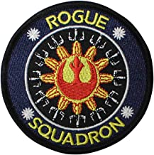 Embroidery Patch Star Wars Rogue Squadron Official 3 1/2