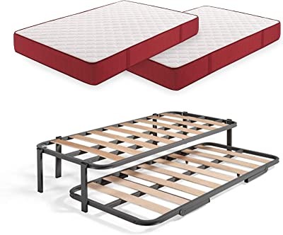 MUEBLIX.COM | Somier Eco para Cama 90 x 190 cm | Somier con 4 ...