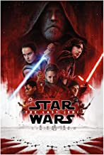 FATHEAD Star Wars: The Last Jedi - Theatrical Poster - Giant Officially Licensed Removable Graphic Wall Decal