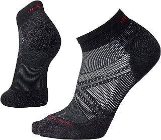 PhD Outdoor Light Low Cut Socks - Men's Run Elite Wool Performance Sock