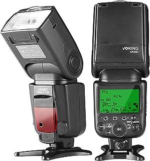 Voking VK581N TTL High Speed Sync Master Camera Flash Speedlite for Nikon D70 D90 D300 D600 D3000 D5200 D7000 D7100 and Ot...
