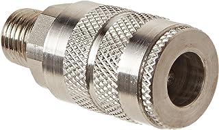 Socket 1//2 Coupler x 1//2-14 NPTF Female Thread Dixon Valve 4FF4-S Stainless Steel 303 Manual Industrial Interchange Pneumatic Fitting