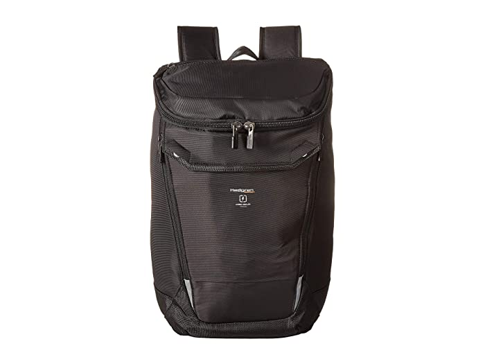 Hedgren Bond Large Backpack with Rain Cover 15.6 (Black) Backpack Bags