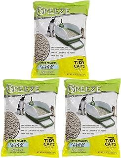 Tidy Cats Pack of 3 Breeze Cat Litter Pellets - 3.5 lb