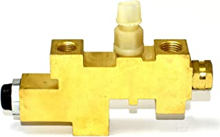 A-Team Performance Proportioning Valve Compatible with 1987-1996 Jeep Wrangler YJ Brass