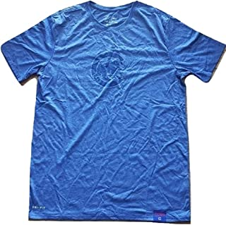 Nike Chicago Cubs DNA Heathered Blue Dri-Fit T-Shirt