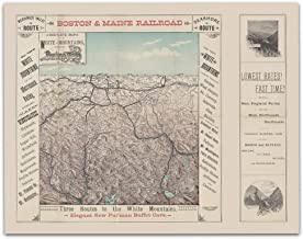 boston and maine railroad map