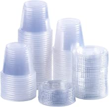 Best 2 oz disposable plastic containers with lids Reviews