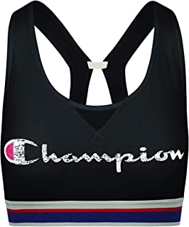 Champion Womens B1429G Authentic Sports Bra Short Sleeve Sports Bra