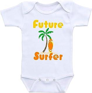 Mono de bebé lindo – Surf – Body de bebé lindo bebé de una pieza el mejor regalo para bebé