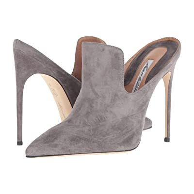 Brian Atwood Liason (Grey Cashmere Suede) High Heels