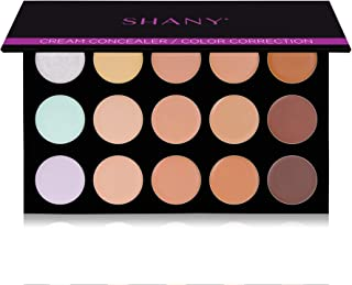 SHANY Cream Concealer/Camouflage Color Correcting Palette - Layer 2 - Refill for the 6 Layer Mini Masterpiece Collection Makeup Set