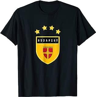 Budapest T-shirt Coat of arms Tee Flag souvenir Hungarian