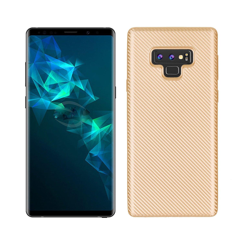 Funda® Firmeza y Flexibilidad Smartphone Carcasa Case Cover Caso para Samsung Galaxy Note 9(Oro): Amazon.es: Electrónica