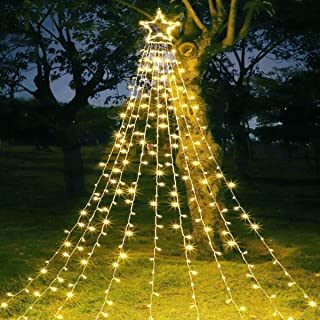 large outdoor christmas star decoration